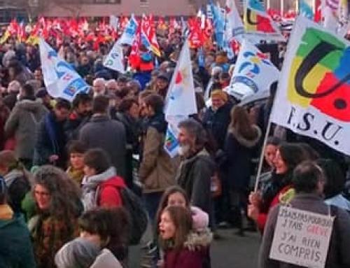 En grève et en manifestation le 10 décembre
