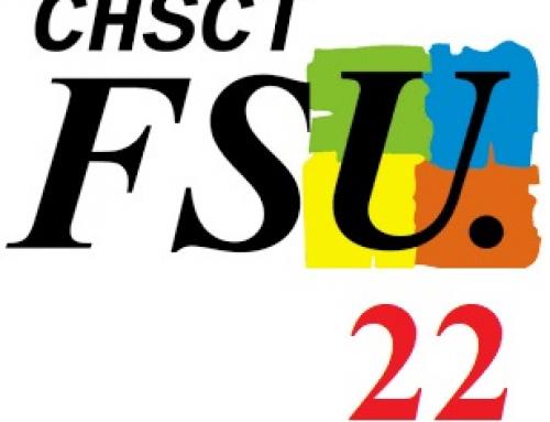 Compte rendu FSU du CHSCTD du 14 novembre 2019