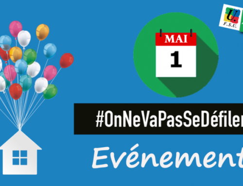 1er mai : on ne va pas se défiler !